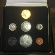Boxed 1967 Canada Confederation Centennial 7 Coin Proof Set Includes 20 Gold