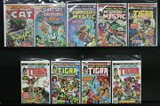 Tigra Treasures Marvel Bronze Age Issues Greer Nelson The Cat Giant Creatures