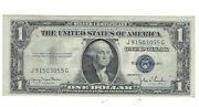 1935 D Series 1 Silver Certificate Paper Money Us Dollar Currency Circulated