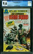 Savage Combat Tales 1 Cgc 9.6 White Pages 1st App Of Sgt. Stryker 0321338001