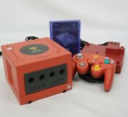Game Cube Char's Customized Console System Dol-001 Jp For Japan Game Cd 10202864