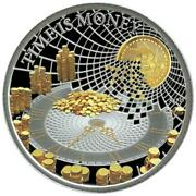 Time Is Money Niue Island 50 Cent Silver Coin 2021