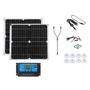 300w Solar Panel Kit 18v Battery Charge Controller For Rv Boat Marine Home