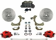 Leed Brakes Rfc1010-305x Front Disc Brake Kit W/ Factory Spindles Chevy Tri-five