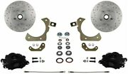 Leed Brakes Bfc1010smx Front Disc Brake Kit For Factory Spindles Chevy Tri-five