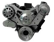 All American Billet Fds-sbf-302 Serpentine Belt Front Drive System Small Block F
