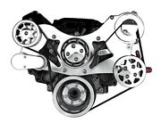 All American Billet Fds-318-103 Serpentine Belt Front Drive System Small Block C