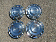 1960 Chevy Impala 14 Wheel Covers Hubcaps Set Of 4