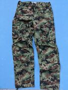 Serbia Military M10 Camouflage Pants Trousers Size 186/52
