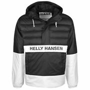 Helly Hansen P And C Anorak Mens Quilted Hooded Jacket White 53328 990