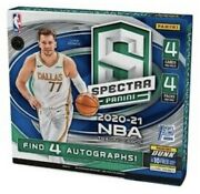 2020-21 Panini Spectra Basketball Fotl Sealed Box 🔥 1st Off The Line