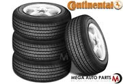 4 Continental 4x4 Contact 275/55r19 111h All Season Touring Tires For Suv Cuv