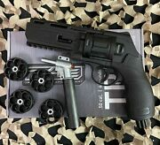 New T4e Tr50 11 Joule 480 Fps .50 Cal Paintball Revolver With Upgrade Valve