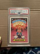 1985 Adam Bomb Psa 8 Garbage Pail Kids Stickers Glossy Cl 8a Nice Invest Gpk