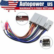 Car Stereo Radio Wiring Harness Adapter Plug For Ford Explorer F-150 F-250 Focus
