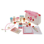 28 Pieces/bag Kid Doctor And Nurse Kit Role Pretend Play Education Wooden Toy