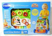 Vtech Learning Walker Sit To Stand Smart Steps For Growing Babies New