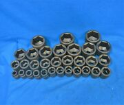 Proto 31 Piece 1andrdquo Drive 6 Point Socket Set 13/16 In Through 3 In Black Oxide