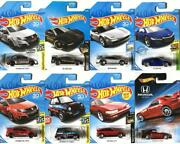 Car Models Can Be Replaced Hot Wheels Japanese Cars Set Of