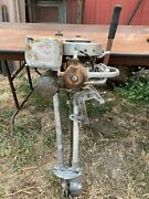 1936 Johnson Model 200 Vintage 3.3hp Outboard Boat Motor Engine For Parts Repair