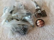 Lots Of 8 Belwith Hardware P374-ac Pull Knob Cabinet Rustic Lodge Fish Copper