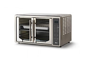 Oster Air Fryer Countertop Toaster Oven   French Door And Extra Large, Silver