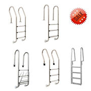 Pool Ladder Stainless Steel Non-slip Swimming Dock Ladder Stairs With Handrail