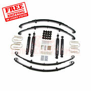 Zone 2 Front And Rear Suspension Lift Kit For Jeep Wrangler Yj 4wd Gas 1987-1995
