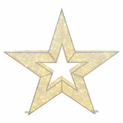 4ft Lighted Commercial Grade Led Star Christmas Display Decoration