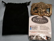 The Walking Dead Cast Crew Paxton Belt Buckle - Twd - Andrew Lincoln - Rare++