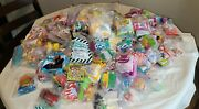 Vintage Mcdonaldandrsquos Bk Happy Meal Toys Huge Lot 120+ Pieces Late 80s And Early 90s