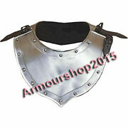 Antique Medieval Gorget Neck Armor Gorget Set Gothic Knight Armor Costume Gift