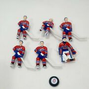 Montreal Canadiens Nhl Wayne Gretzky Table Top Hockey Team And Puck 1989 Overtime