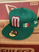 Mexico Hat 7+5/8 2006 World Baseball Wool Cap Made In Us Nwt