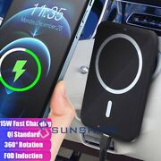Wireless Magnetic Car Charger Mount For Mag Safe For Iphone 12 Mini 12 Pro Max