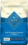 Blue Buffalo Life Protection Formula Adult Chicken And Brown Rice Recipe 30-lb