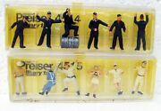12 Military Figures 1/72 Preiser Military 4514 4515 West Germany Mb