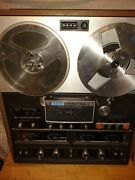 Vintage Akai 280d-ss Reel To Reel 4-channel Stereo Tape Deck