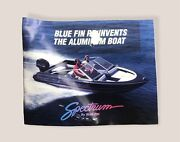 Spectrum By Blue Fin Andldquoblue Fin Reinvents The Aluminum Boatandrdquo Promotional Booklet