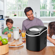 New Portable Tabletop Compact Ice Maker Machine Quiet And Energy Efficient