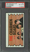 1964 Topps Beatles Plaks 11 The Chairmen Of The Board Psa 8