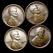 1916-s 1918-s 1923 1924 Lincoln Cent Wheat Penny ---- Nice Lot ---- T064