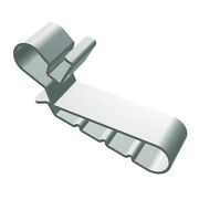 Burndy Acc-r4 304 Stainless Steel Top Rail Clip 4.1-6.5-mm Wiley Pack Of 1000