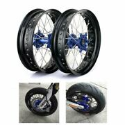 Yz-f 250 450 Complete 17and039and039 Wheel Blue Hub Set For Yamaha Yz250f Yz450f 2009-2013