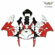 Ms Injection Mold Red White Fairing Fit For Honda 2005-2006 Cbr 600rr Cowl S0109