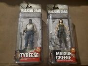 Lot Set Of 2 Mcfarlane The Walking Dead Series 5. Maggie Greene And Tyreese. New
