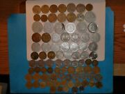 France Coin Lot- 88 And039pre-euroand039 Coins - More Rare - No Duplicates - 1917-1997