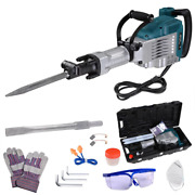 3600w Demolition Electric Hammer Electric Concrete Mixing Chisel Drill 1800bpm