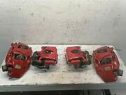 Set Of 4 Front And Rear Brake Calipers 2018 Audi Sq5