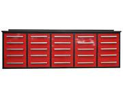 Tool Chest Work Bench Cabinet 10' Workbench With Storage Drawers 25 Drawers